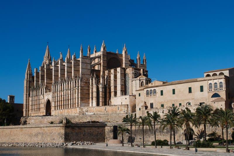 Cathedral Of Palma De Majorca Stock Photos
