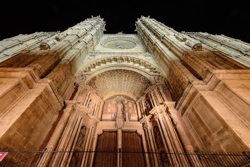 Cathedral of Palma de Majorca stock photo