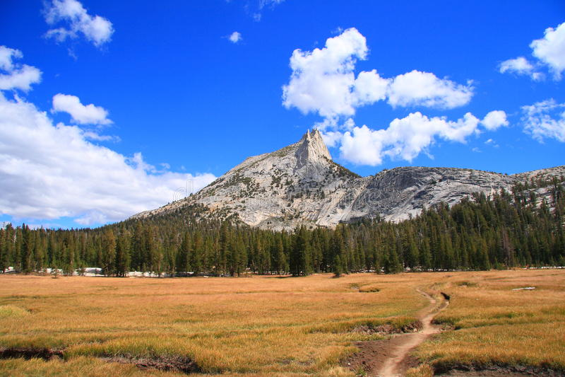 Cathedral Peak Royalty Free Stock Photography