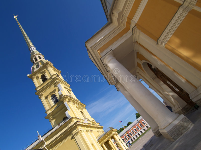 Cathedral of Peter and Pavel royalty free stock photo