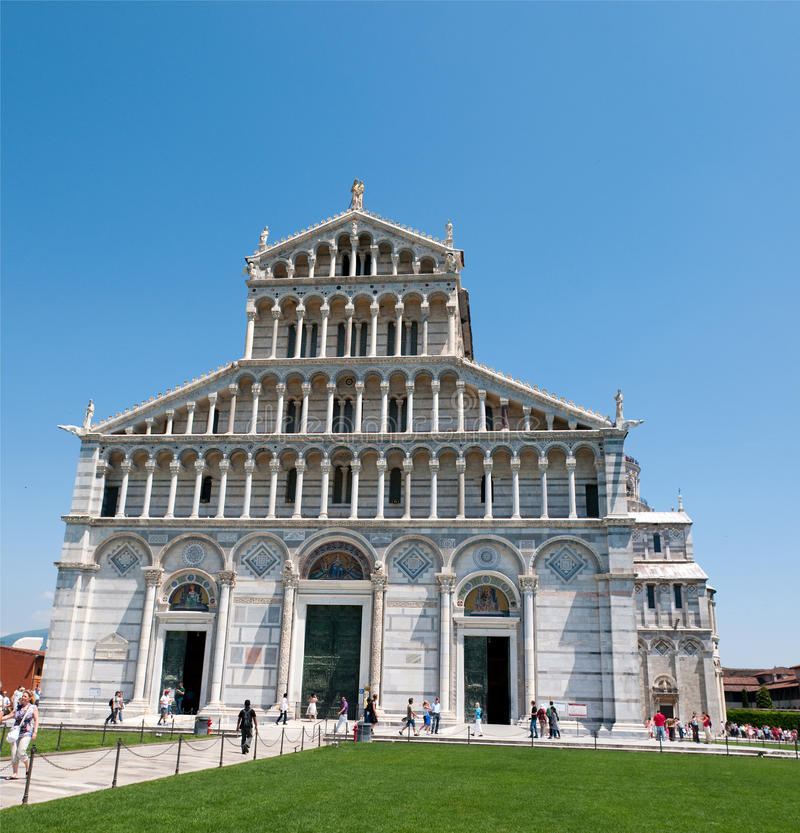 Cathedral Of Pisa Editorial Photo