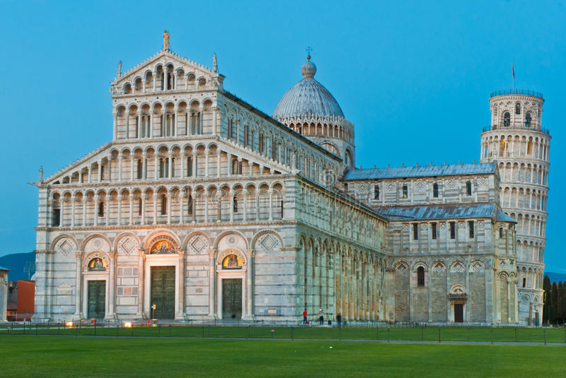 Cathedral of Pisa royalty free stock images