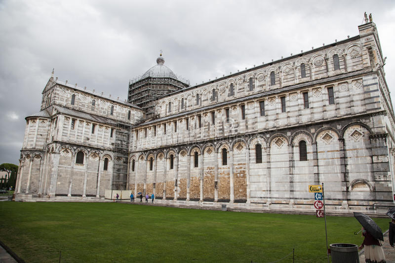 Download The Cathedral of Pisa editorial photography. Image of duomo - 83716567