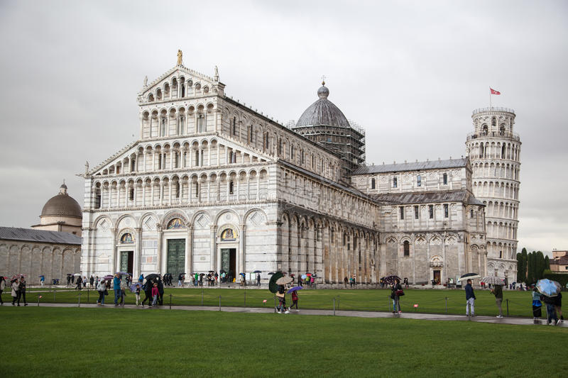 The Cathedral of Pisa royalty free stock image