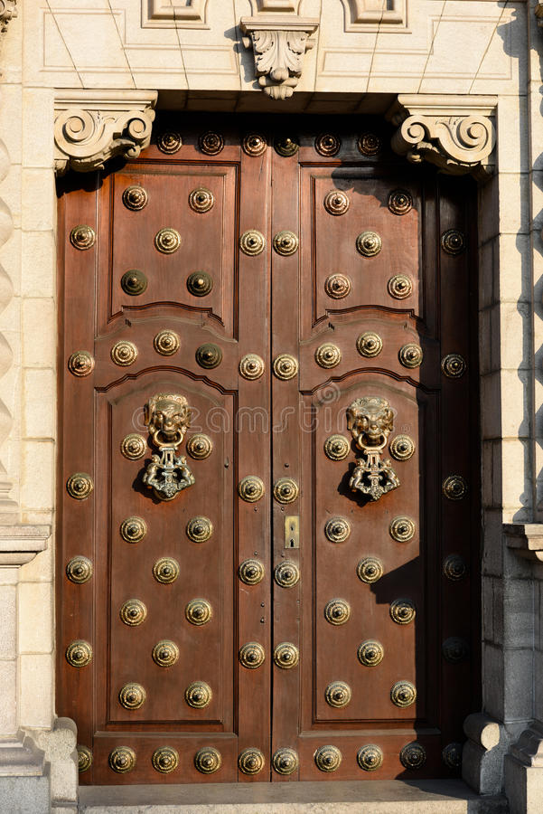 Cathedral Plaza de Armas, Lima, Perú fotos de archivo libres de regalías