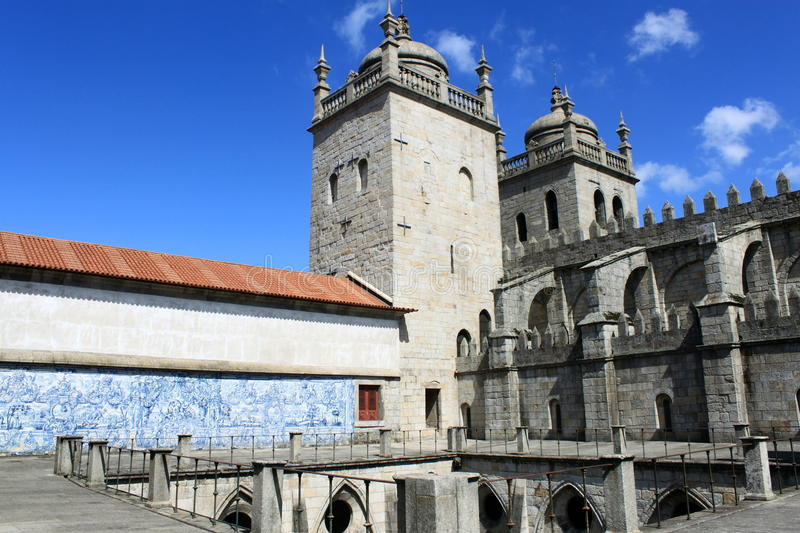 Download Cathedral of Porto stock image. Image of azulejo, city - 27420361