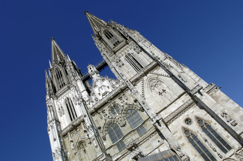 Download Cathedral Of Regensburg In Germany Stock Image - Image: 8666013