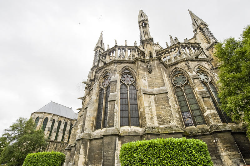 Download Cathedral Of Reims - Exterior Stock Image - Image: 27535389