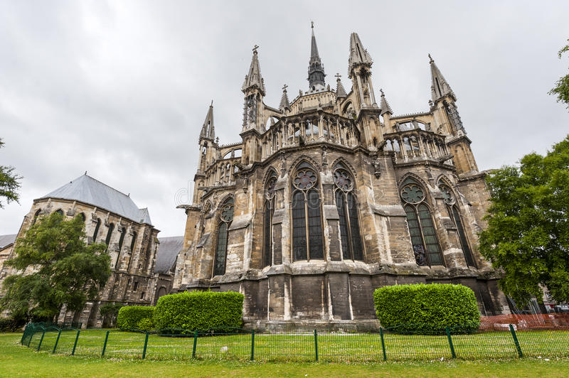 Cathedral Of Reims - Exterior Stock Photography