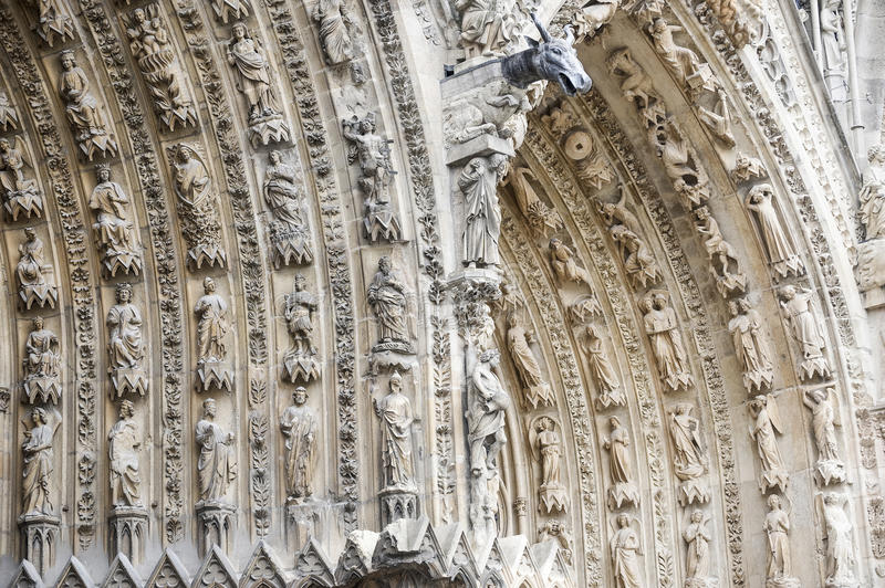 Download Cathedral Of Reims - Exterior Royalty Free Stock Photo - Image: 27535455