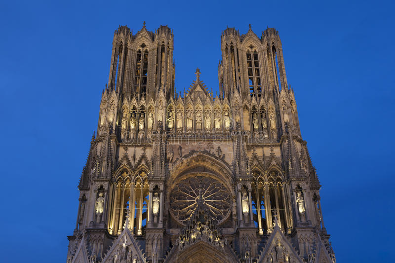 Cathedral of reims stock image image of cathedral for Champagne marne