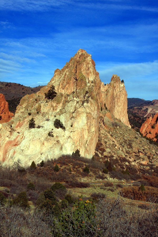 Download Cathedral Rock Royalty Free Stock Images - Image: 7427429