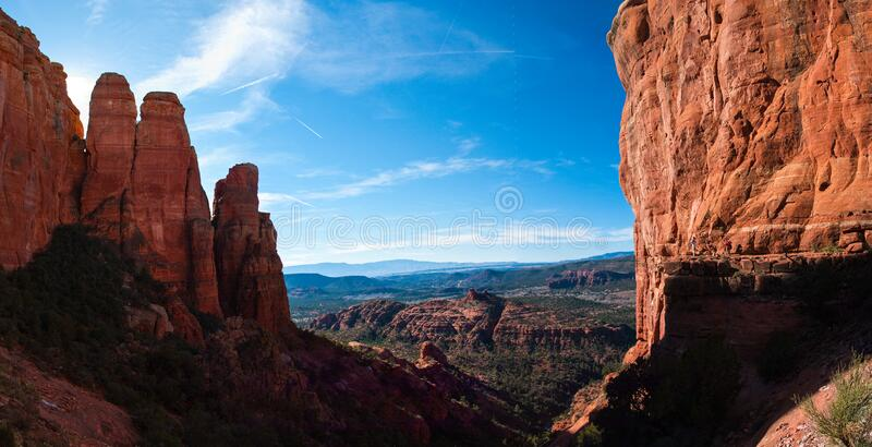 Cathedral Rock Trail No. 170 royalty free stock image