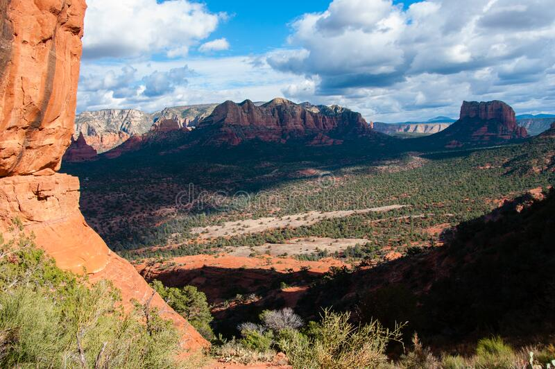 Cathedral Rock Trail No. 170 stock photos
