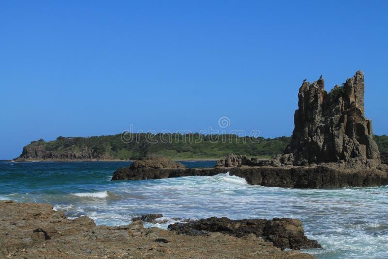 Cathedral Rocks, Kiama stock photo