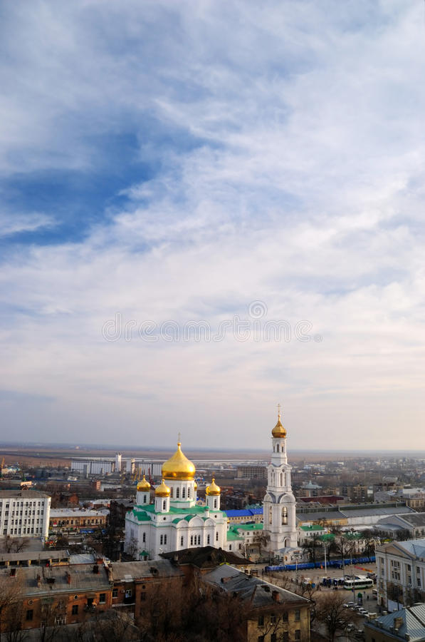 Download Cathedral. Rostov-on-Don stock image. Image of house - 12438849