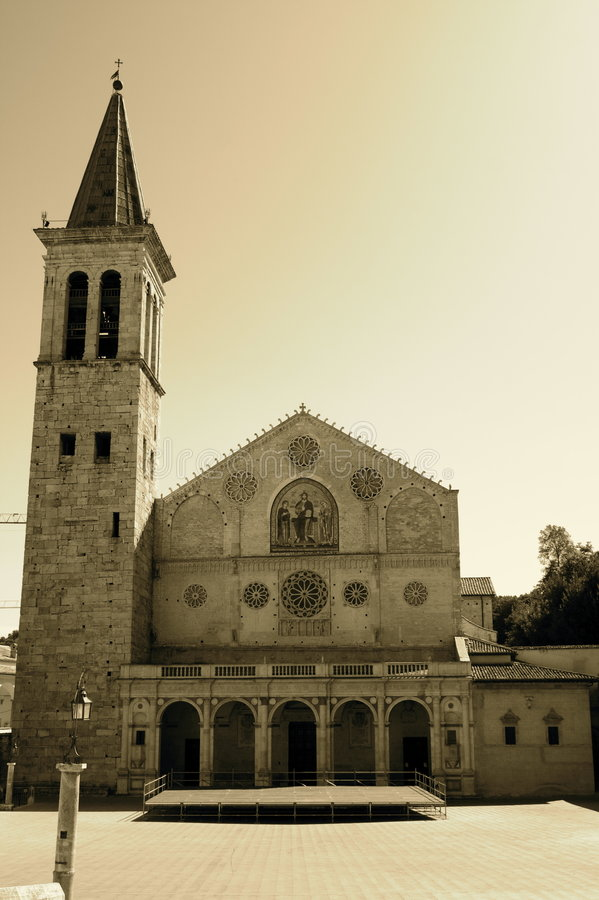 Cathedral of S. Maria Assunta royalty free stock images