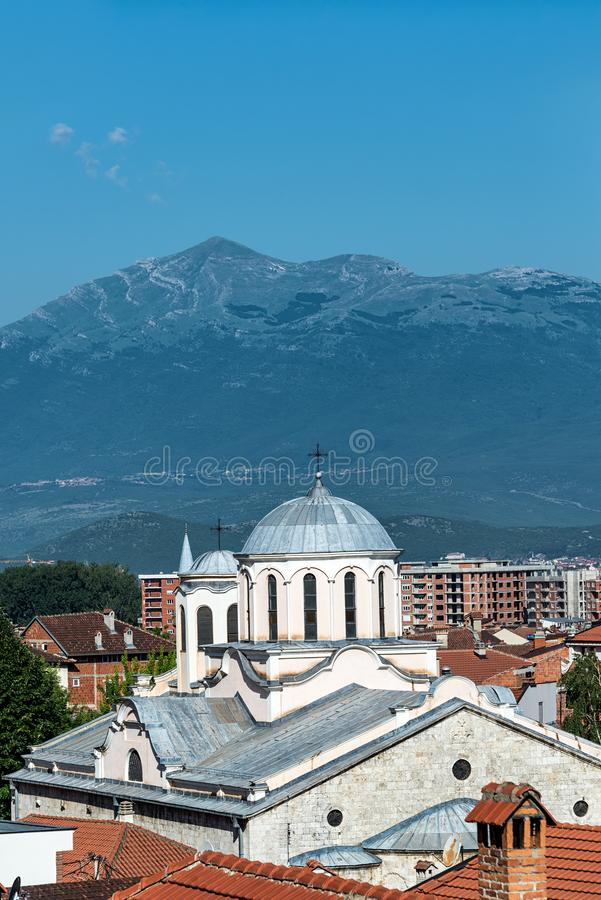 Cathedral of Saint George in Prizren, Kosovo royalty free stock images