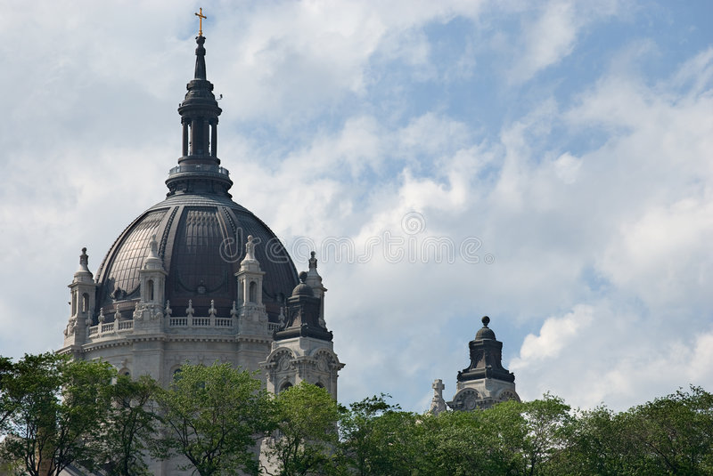 Cathedral of Saint Paul royalty free stock photo