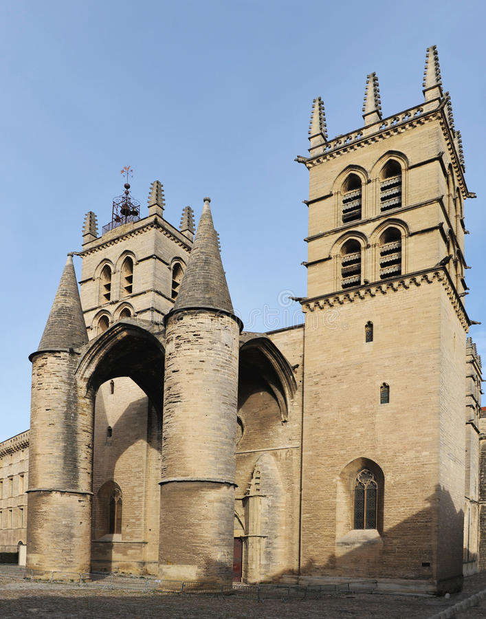 Download Cathedral Saint Pierre, Montpellier Stock Photo - Image: 13346132