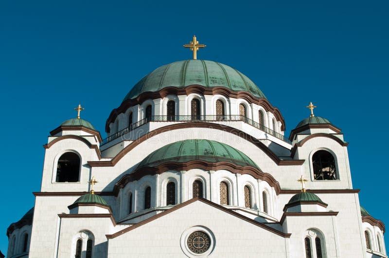 Cathedral of Saint Sava in Belgrade Serbia royalty free stock photo
