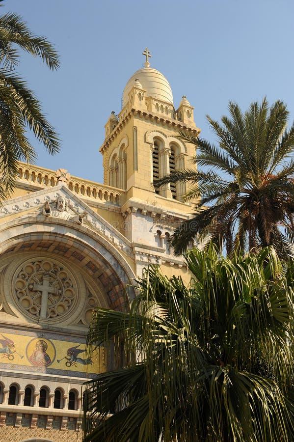 Cathedral of Saint Vincent de Paul royalty free stock photos