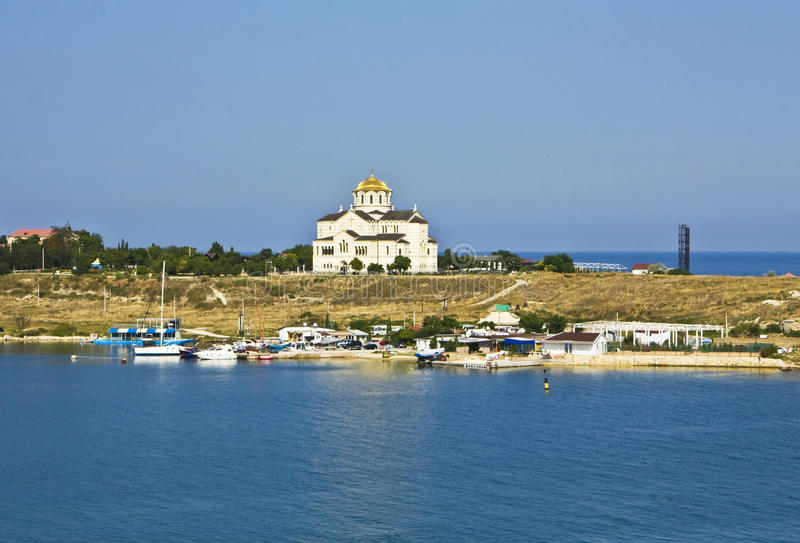 Cathedral of Saint Vladimir, Sevastopol, Crimea stock photography