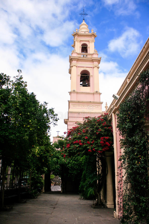 Cathedral of Salta. In the North of Argentina stock photos