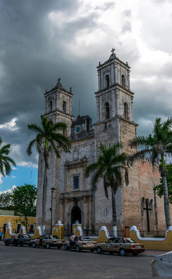 The Cathedral of San Gervasio royalty free stock image