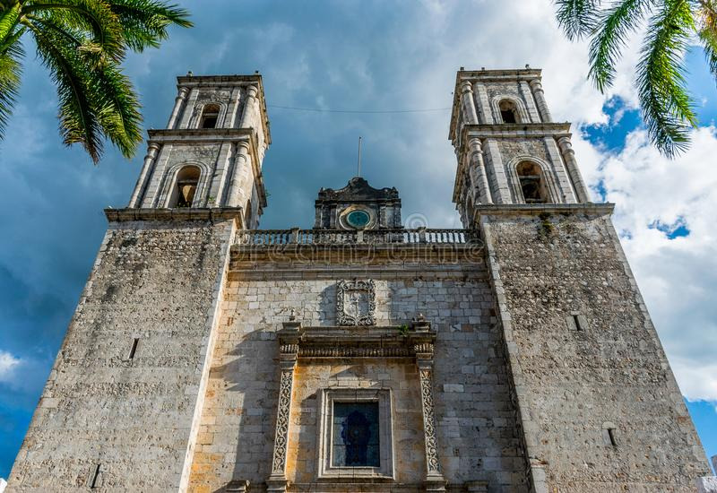 The Cathedral of San Gervasio royalty free stock images