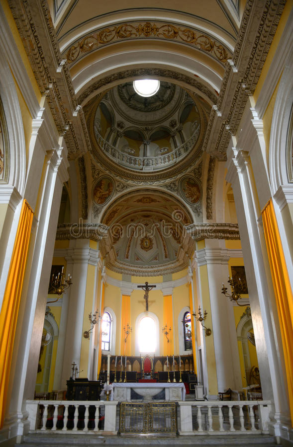 Cathedral of San Juan Bautista, San Juan, Puerto Rico royalty free stock photo