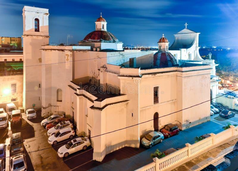 Cathedral of San Juan Bautista - San Juan, Puerto Rico stock image