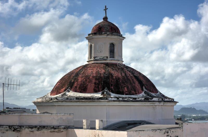 Cathedral of San Juan Bautista - San Juan, Puerto Rico royalty free stock photos