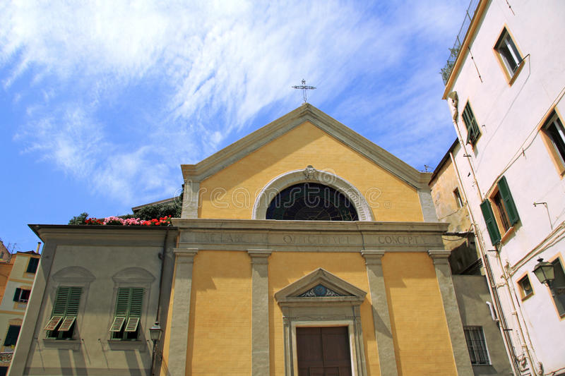 Cathedral in San Remo, Italy royalty free stock photos