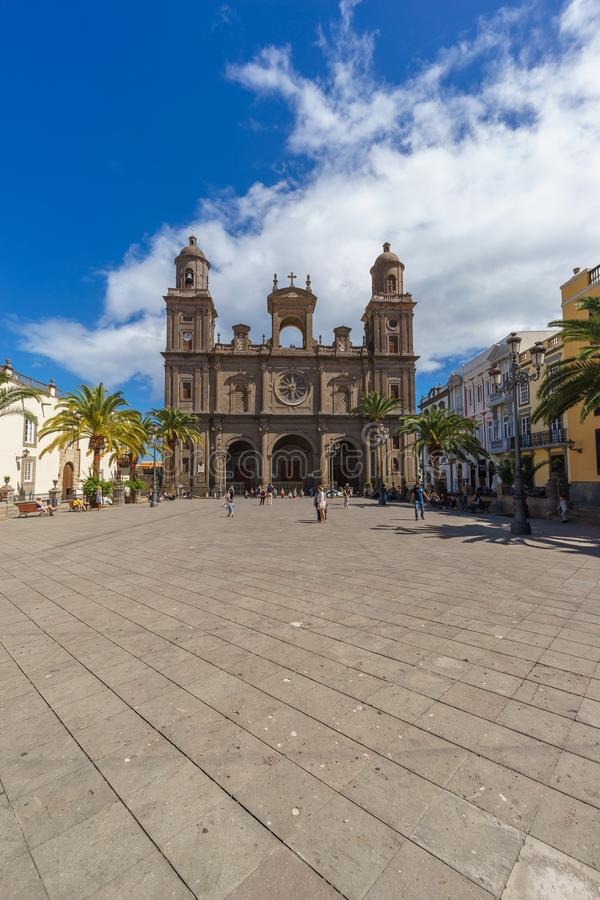 Cathedral of Santa Ana, Las Palmas, Spain. Cathedral of Santa Ana, Las Palmas, Gran Canaria, Canary islands, Spain stock photography