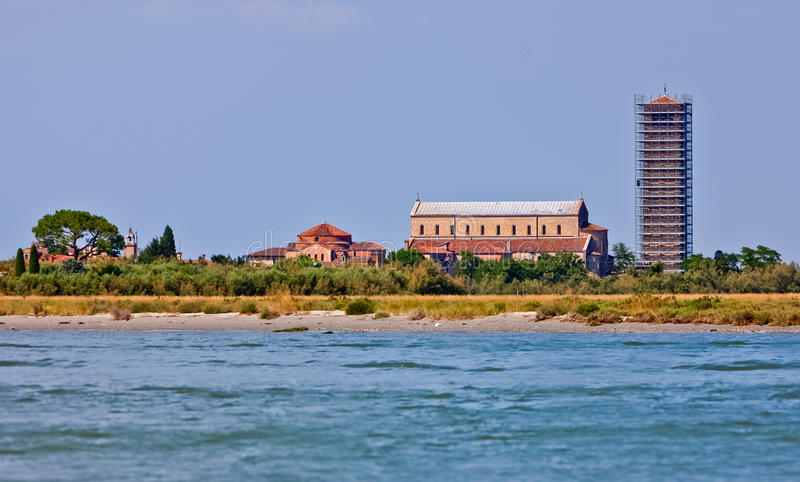 Cathedral of Santa Maria Assunta on Torcello, Italy royalty free stock photos