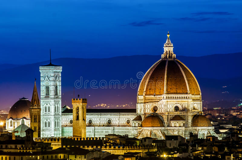 Cathedral of Santa Maria del Fiore (Duomo)Florence royalty free stock image