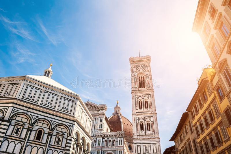 Cathedral Santa Maria del Fiore in Florence, Italy stock images