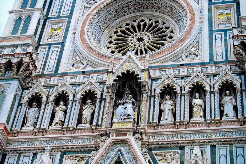Cathedral of Santa Maria del Fiore Florence Italy stock images
