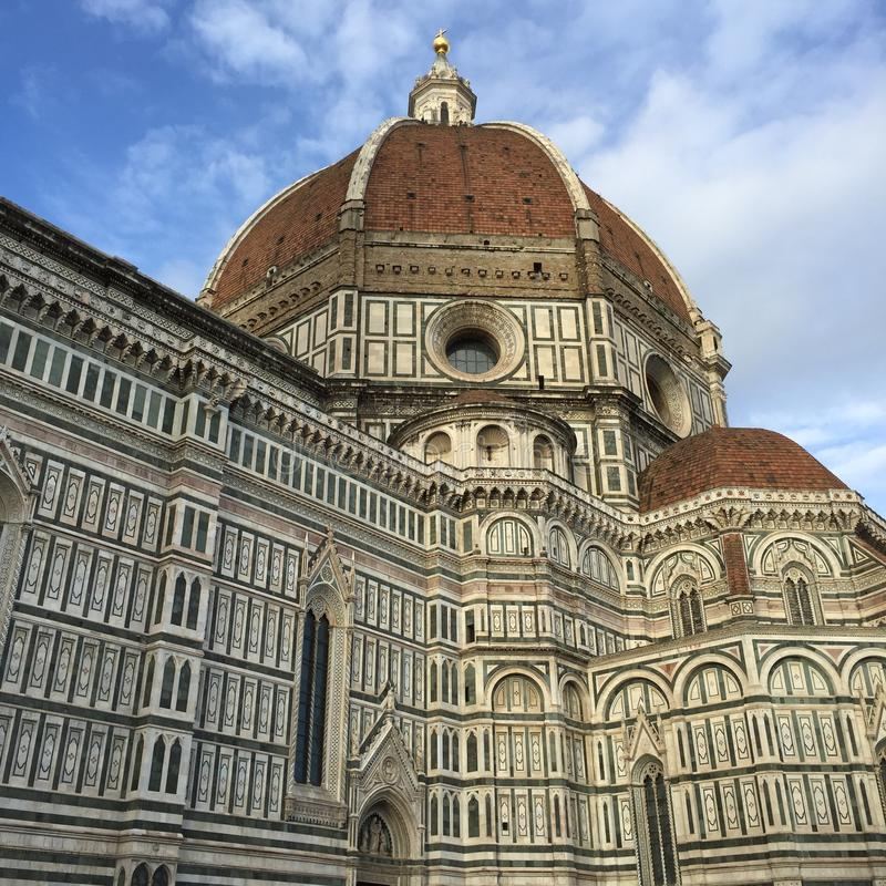 Cathedral of Santa Maria del Fiore stock images