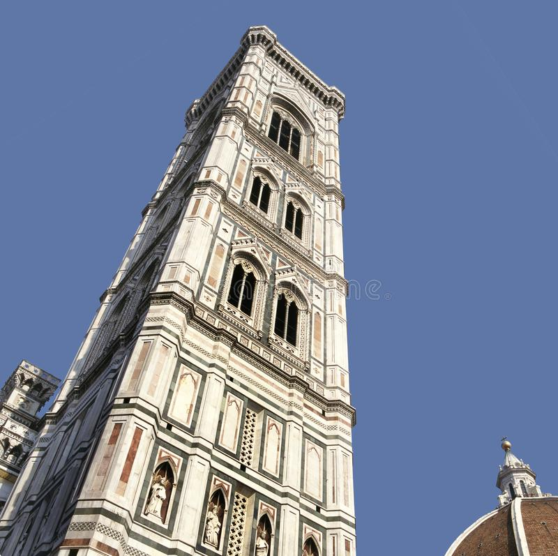 Cathedral of Santa Maria in Florence stock image
