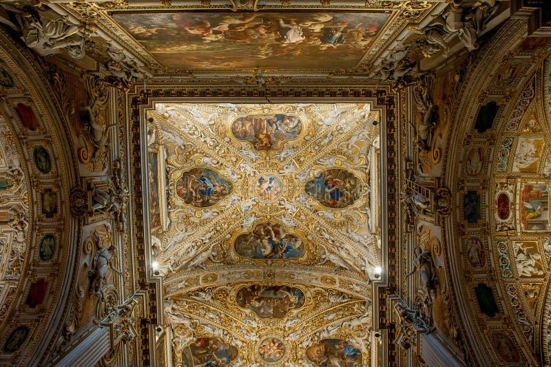 Bergamo. Cathedral of Santa Maria Maggiore Bergamo royalty free stock photo