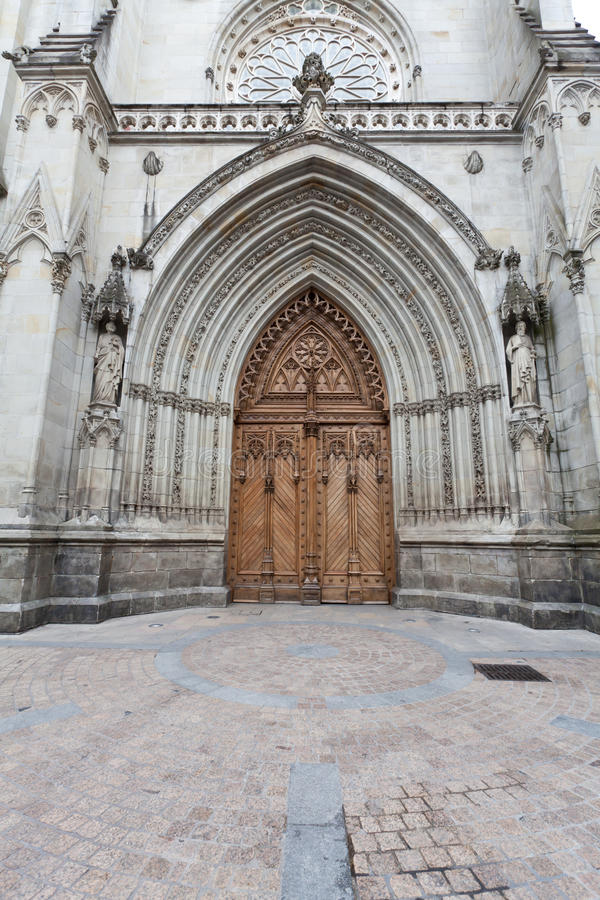 Download Cathedral Of Santiago In Bilbao, Spain Stock Photos - Image: 25388393
