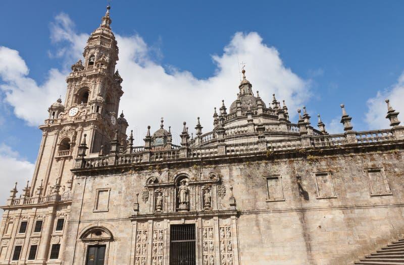 Cathedral Of Santiago De Compostela Royalty Free Stock Image