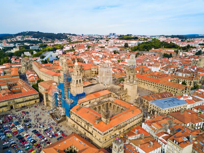 Santiago de Compostela in Galicia, Spain stock images