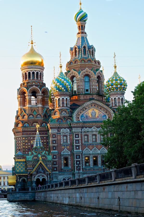 Download The Cathedral Of The Savior On The Blood Stock Photo - Image of gold, canal: 39504846