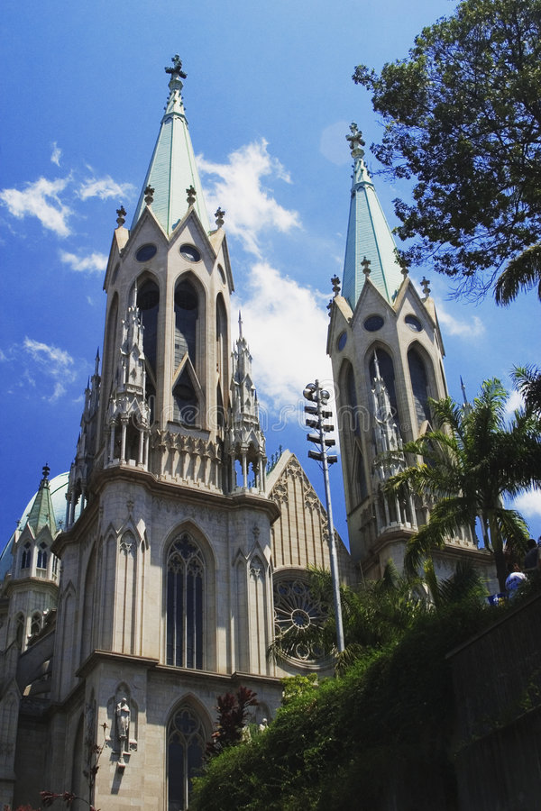 Download Cathedral Of Se Of Sao Paulo, Brazil Royalty Free Stock Photos - Image: 1130398