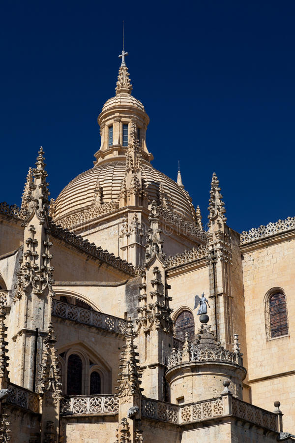 Download Cathedral of Segovia stock photo. Image of great, famous - 18787204