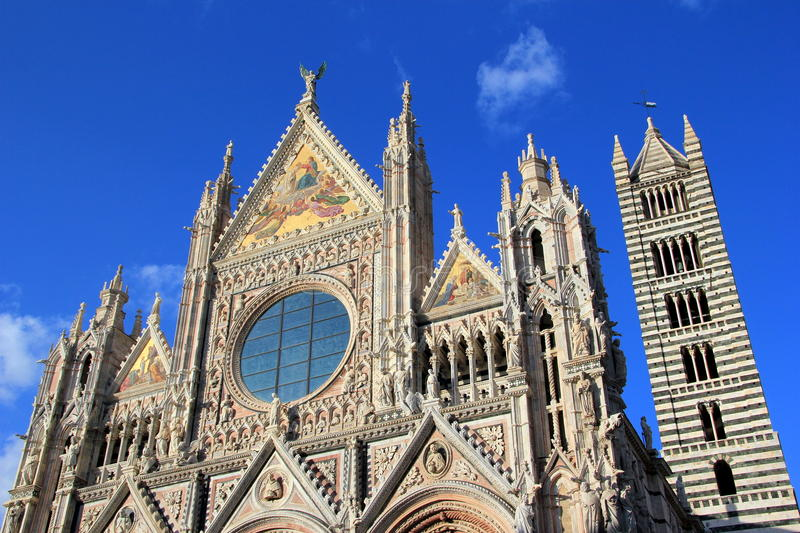 Cathedral of Siena royalty free stock photo