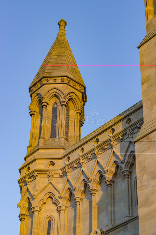 Cathedral of St Albans. Ancient cathedral of St Albans in the United Kingdom royalty free stock photos